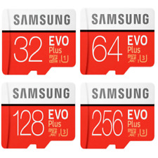 Samsung EVO Plus Micro SD Card 16GB 32GB 64GB 128GB SDHC CLASS10  Card & ADAP