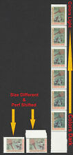 Iraq Irak 2001, Stamp Size & Color Different, Perf Shifted Error, MNH 4929
