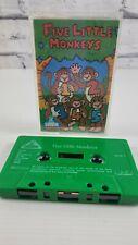More details for elc  five little monkeys ~ cassette tape audio music