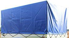 Stema Spriegel & Hochplane Anhängerplane 0,80 m für PKW Anhänger Plane blau Neu
