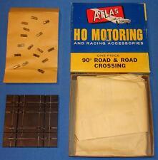 Atlas Ho Scale Slot Car Racing Track 90 Degree Road & Road Crossing #1244 Nmib