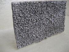 muro per plastico ferroviario,diorama h0  ART. M 02