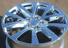 "SET OF 4 NEW FACTORY CHEVY GM 18"" MALIBU CHROME OEM WHEELS RIMS 2013-15 5561"