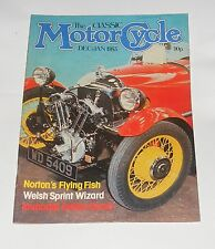 THE CLASSIC MOTOR CYCLE DECEMBER/JANUARY 1983 - 348CC MATCHLESS G3 MERCURY