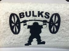STRONGMAN BULKS POWER AND STRENGTH GYM TOWEL