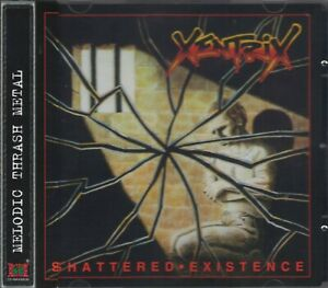 XENTRIX - SHATTERED EXISTENCE (+3 Bonus)(1989/2008) CD+OBI Jewel Case OOP+GIFT