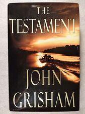 JOHN GRISHAM THE TESTAMENT FIRST EDITION 1999 Hard Cover w/dust jacket