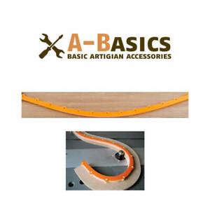 Dima per fresatura ARANCIONE ORANXIBLE flessibile – Frese x legno FRAISER