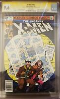 X-men 141 CGC 9.6 SS. 2X. Signed by Stan Lee and Chris Claremont.
