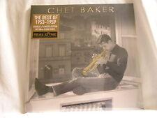 CHET BAKER Best of 1953-1959 180 gram limited CLEAR vinyl SEALED 2 LP