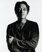 Steven Yeun The Walking Dead signed 10x8 photo Online COA [15092] In Person