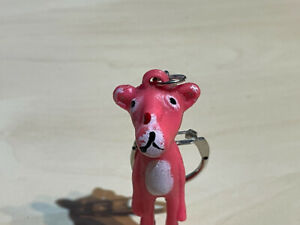Vintage (1980s) Pink Panther Keyring
