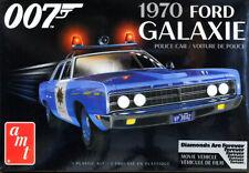 1970 Ford Galaxie Police Car James Bond 007 1:25 AMT Model Kit Bausatz AMT1172