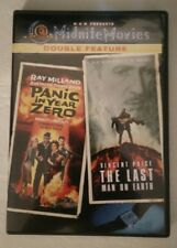 Panic in Year Zero/Last Man on Earth (DVD, 2005)