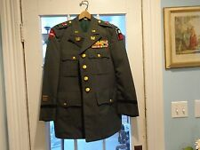 U.S. Army Uniform with Trousers 11 combat & award ribbons w/stars & decorations