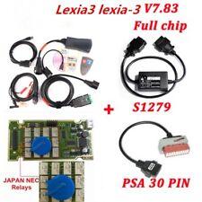 Lexia 3 Diagnosegerät OBD2 Citroen Peugeot Diagnose inkl S.1279 Modul + 30 Pin