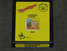Burning Desire Atari - Mystique Title - ULTRA EXTREMELY RARE - FAST & FREE Post