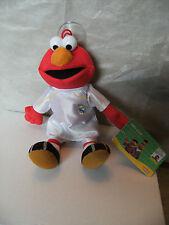 REAL MADRID Spain Football Team ELMO Sesame Street Car Window Soft Toy + Sucker
