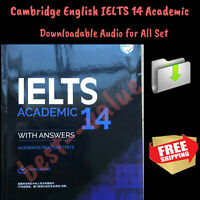 IELTS 14 **New Published** Cambridge Academic Tests Keys + Downloadable Audio
