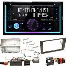 JVC KW-R930BT USB Bluetooth CD MP3 Einbauset für Seat Exeo Audi A4 B7