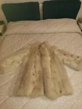 Pelliccia Di Vera Volpe Linciata Real Fox Fur MADE IN ITALY