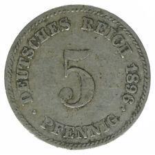 Deutsches Reich, 5 Pfennig 1896 E, A39409