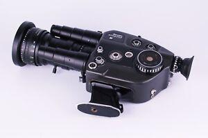 Beaulieu 4008 ZM II Super 8mm Camera Schneider 6-66mm f/1.8