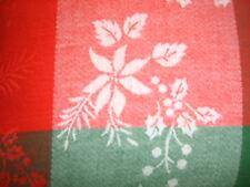 Kissenhülle Jaquard Weihnachten rot/grün  Gr.50/50