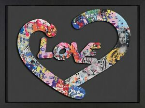 Yuvi  - Love - Framed