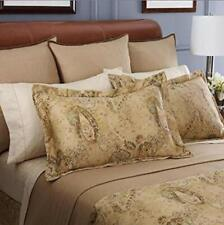 "Ralph Lauren Verdonnet Paisley King Pillow Sham 100% Cotton $170 Nip 20"" x 36"""