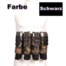 Schwarz Paintball Pod Weste Camouflage Battlepack inkl 4x Pod