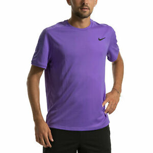 Nike NikeCourt Dri-FIT Men's Short-Sleeve Graphic Tennis Top AT4305-550 2XL