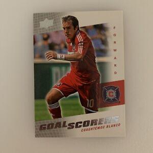 2008 Upper Deck Cuauhtemoc Blanco # GS 2 Goal Scorers Chicago Fire Soccer Card
