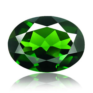Chrome Diopside 1.40ct rare aaa green color 100% natural earth mined Russia