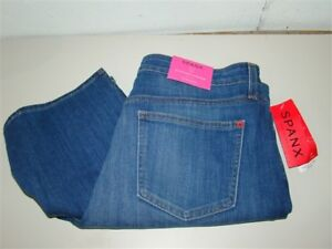 "NEW SPANX Sz 10 Slim-X Casual Capri Jeans SD3915 Sunkissed 31"" Waist #49001"