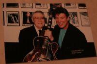 DJ Fontana and Ronnie McDowell Candid Photo Elvis Presley Memphis Mafia