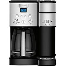 Brand new in box Coffee Maker Cuisinart 12 cup SS-15p.  K-cup and large pots
