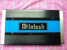 MCINTOSH MC431 OLD SKOOL 400WRMS 4CH AMP, RECAPPED+, COMPLETE, VGC, USA!!!