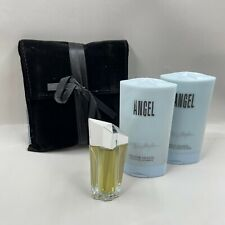 Thierry Mugler Angel Star Perfume & Body Lotion Body Wash Mini Gift Set w/ Pouch