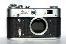Fed-3 Ussr 35 mm vintage rangefinder body M39 mount late type B