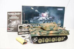 Henglong German PANTHER 1/16 3819 Radio Remote Control Battle Tank BOXED - 250