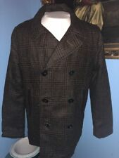 Mother Freedom Mariners Home Peacoat-Plaid-M-$965 MSRP