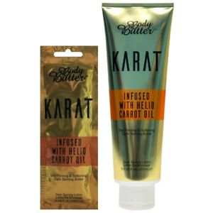 Body Butter Karat with carrot oil Tanning Accelerator sunbed lotion cream