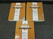 2003 Chevrolet Chevy Blazer SUV Shop Service Repair Manual Set LS Xtreme 4.3L V6