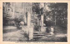 HARTMANNSWILLERKOPF VIEIL-ARMAND cimetière du 124ème régiment territorial