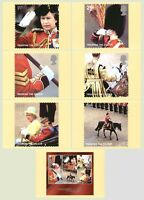 GB POSTCARDS PHQ CARDS MINT FULL SET 2005 TROOPING THE COLOUR PACK 276