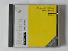 PC CD-ROM Maria Stuart Friedrich Schiler Reclam