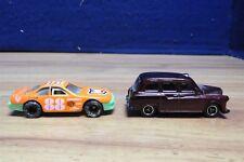 MATCHBOX DIECAST 1:63 LONDON TAXI & PLASTIC #88 RACE CAR  569931