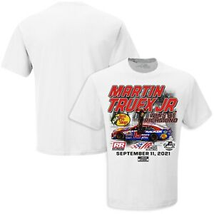 Martin Truex Jr. Checkered Flag 2021 Federated Auto Parts 400 Salute to First
