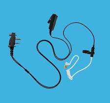 IC Clear Coil Radio Earpiece Earphone Headphone for ICOM IC-V82 IC-02AT
